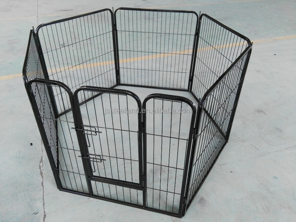 hot sales pupply square tube and wire metal material pet exercise pet playpen