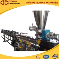 PLA starch degradable plastic pelletizing granulating producition line