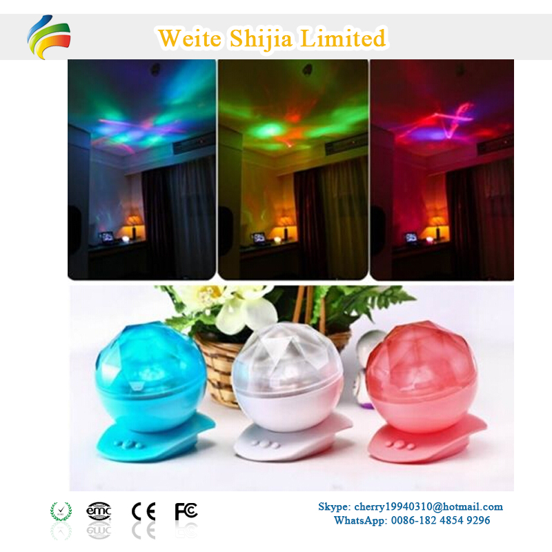 tabletop ocean wave night light projector for baby