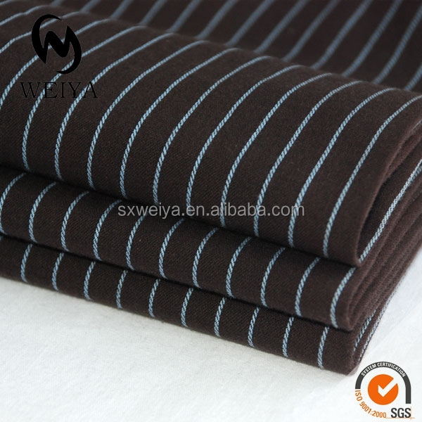 striped fabric in brown color