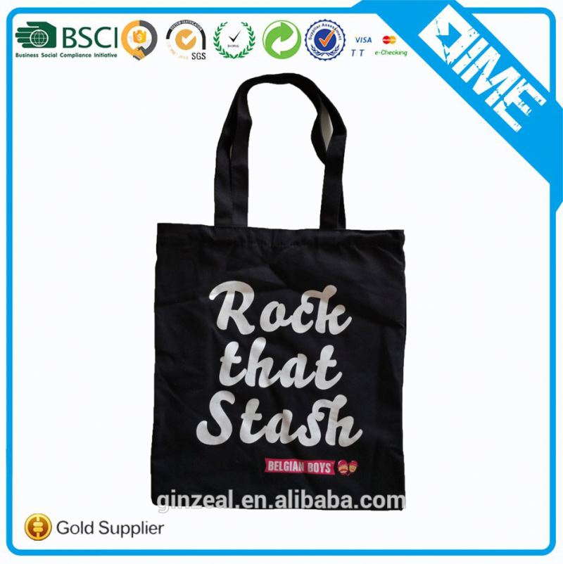 China professional customized canvas tote bag for lady