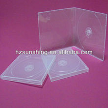10mm clear single vcd pp case