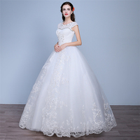 HS1617 Ball Gown Wedding Dresses 2017 New Gorgeous Dazzling Princess Bridal Real Image Luxurious Tulle Handmade Rhinestone