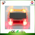 Pavement waterproof led traffic reflective road stud,solar cat eye reflector for roadway