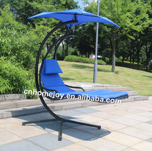 High quality garden hanging chair with stand