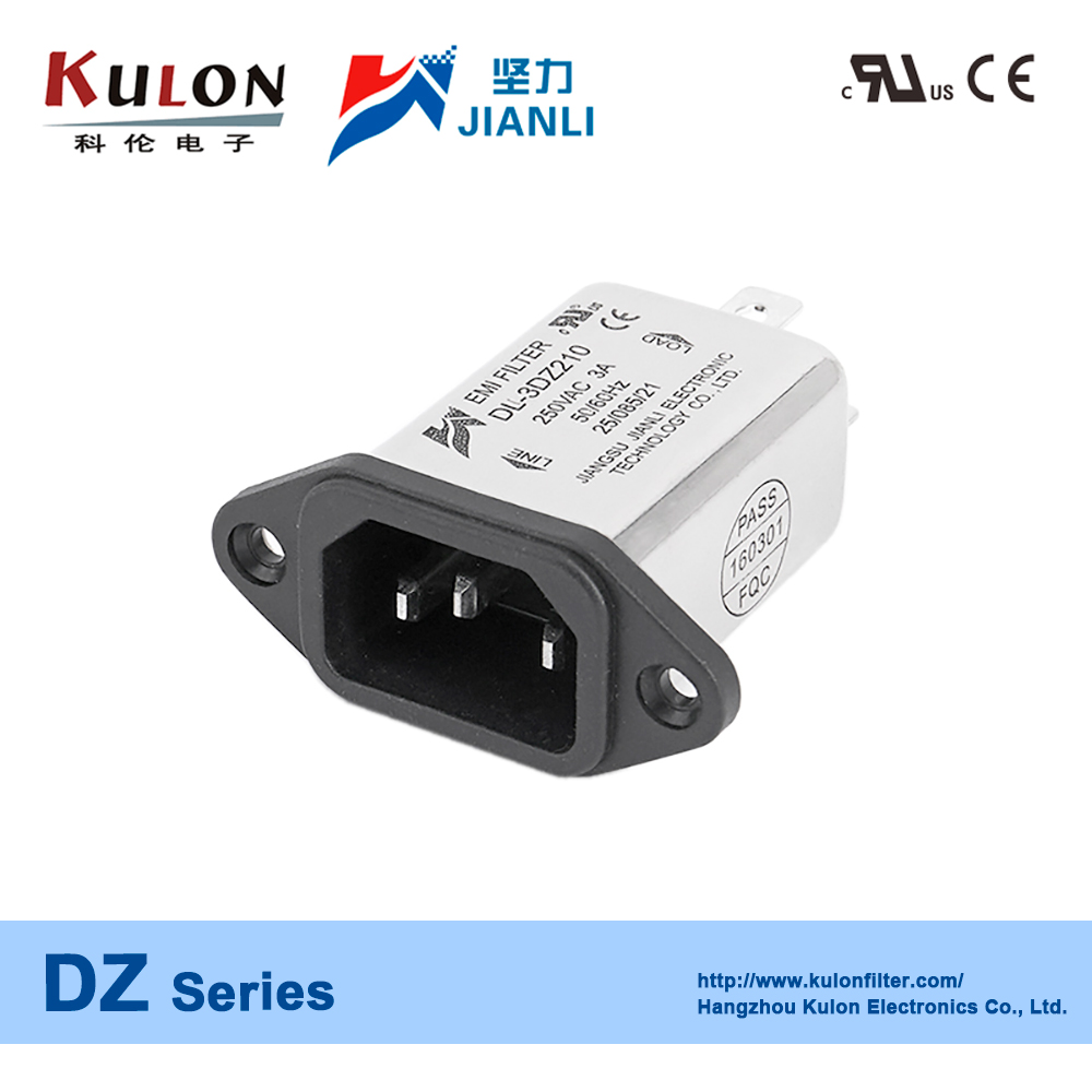 DL-1DZ210 1A electromagnetic interference electrical power emi filter
