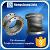 large diameter plumbing fitting flange axial metallic bellow compensator