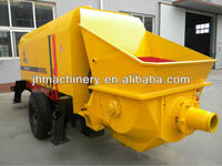 HBT50s-12-55 stationary motor trailer small Concrete Pump for sale