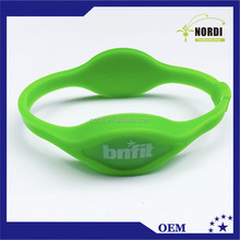 RFID security access nfc silicone wristband smart bracelet