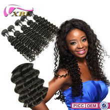 2015 XBL Top Quality Best Selling 8A Grade Chemical Free deep wave braid