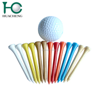 Hot products 2018 colored bulk wooden golf tees for sale