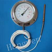 Remote Refrigeration Flange thermometer with capillary -40+60C