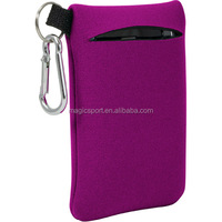 custom neoprene mobile phone bag