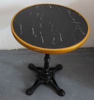 round marble table top for coffee shop YPCT4