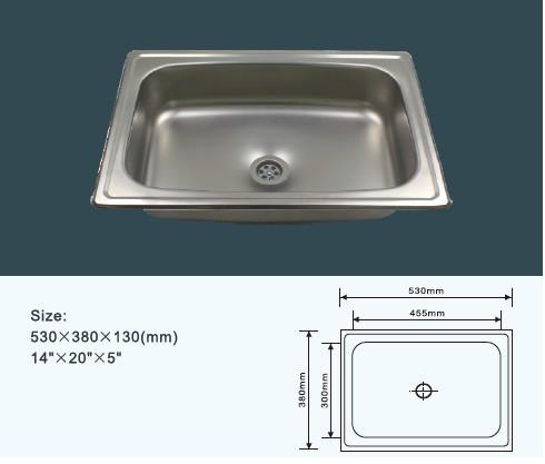 Kitchen sink price kitchen design ideas philippines 14 20 single bowl stainless steel kitchen sink workwithnaturefo