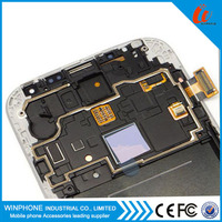 shenzhen Manufacturers display lcd for samsung galaxy S4 lcd digitizer with frame replacement