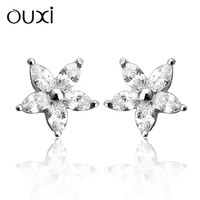 silver earrings 925, channel earing, earrings stud Y20108