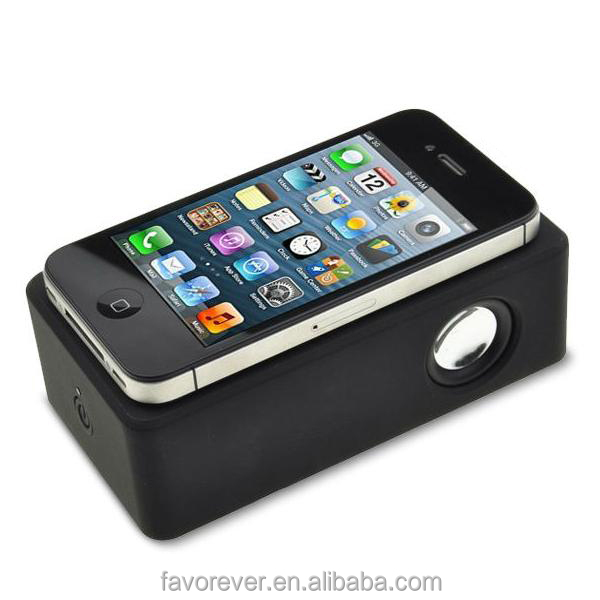 Cheap price mini portable wireless amplifier speaker magnetic induction speaker for mobile phone