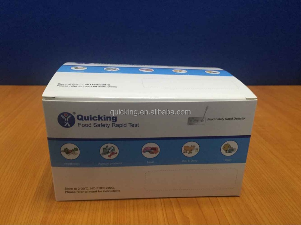 ISO 9001 Antibiotic Residue Rapid Test Tetracycline (Milk) Test