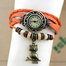 South America vintage wrist watch mix 15 different pendants
