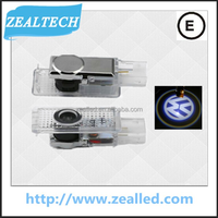 2015 New Release 3W C.REE Caddy 3D Laser LED Welcome door Light wth Logo for VW Caddy/Passat/Beetle