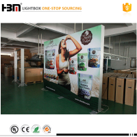 factory price high quality multifunctional store or decoration display led edgelit light box sign with picture frame