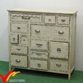 off-white color hot sale cabinet antique style wooden cabinet with drawers