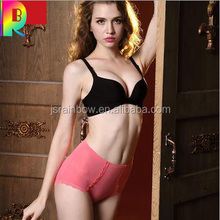 Hot selling belly in sexy lace underwear postpartum shape non-trace carry buttock of tall waist ms cotton briefs mom jeans