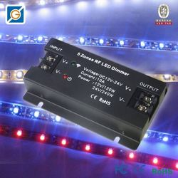 2014 hot gift items 5 Zones led rgb dali dimming driver