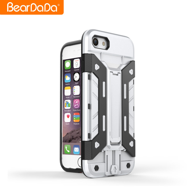 Popular Item pc tpu for iphone 7 case credit card,for iphone 7 case with card holder tpu and pc