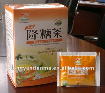 Herbal Supplements Type and Reduce blood sugar level Function Tea