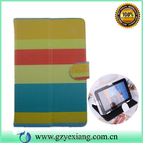 Cute Case For 7 Inch Tablet PC, Customer Design Leather Case For 7 Tablet