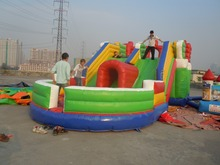 Best selling!!!!inflatable christmas slide,inflatable castle bouncer with slide,inflatable trampolin slide
