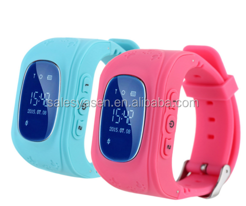 smart watch gps for kids Q50 GPS Tracking SOS Help Security Device for Kids Children Smart Watch