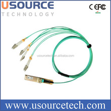 40G Gigabit Ethernet multimode OM3 module MPO Female 8 core MTP MPO Patch Cable 20 meters MPO to LC breakout patchcord
