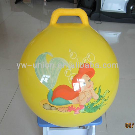 Handle Ball Hopper Ball for children