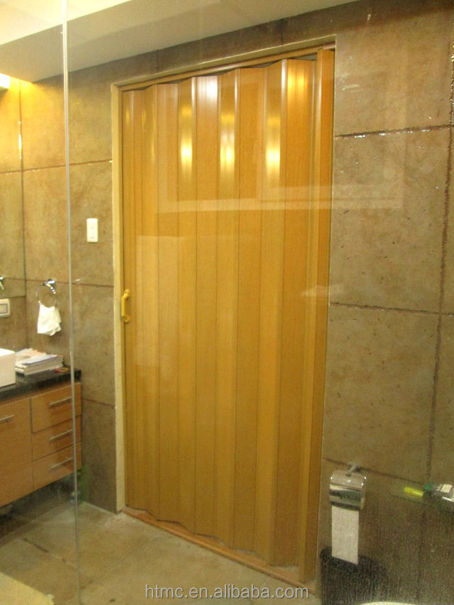 Modern fashionable style accordion doors bathroom popular with market