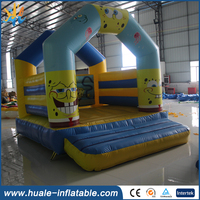 High quality commercial inflatable kids jumping trampoline,jumping bouncy castle