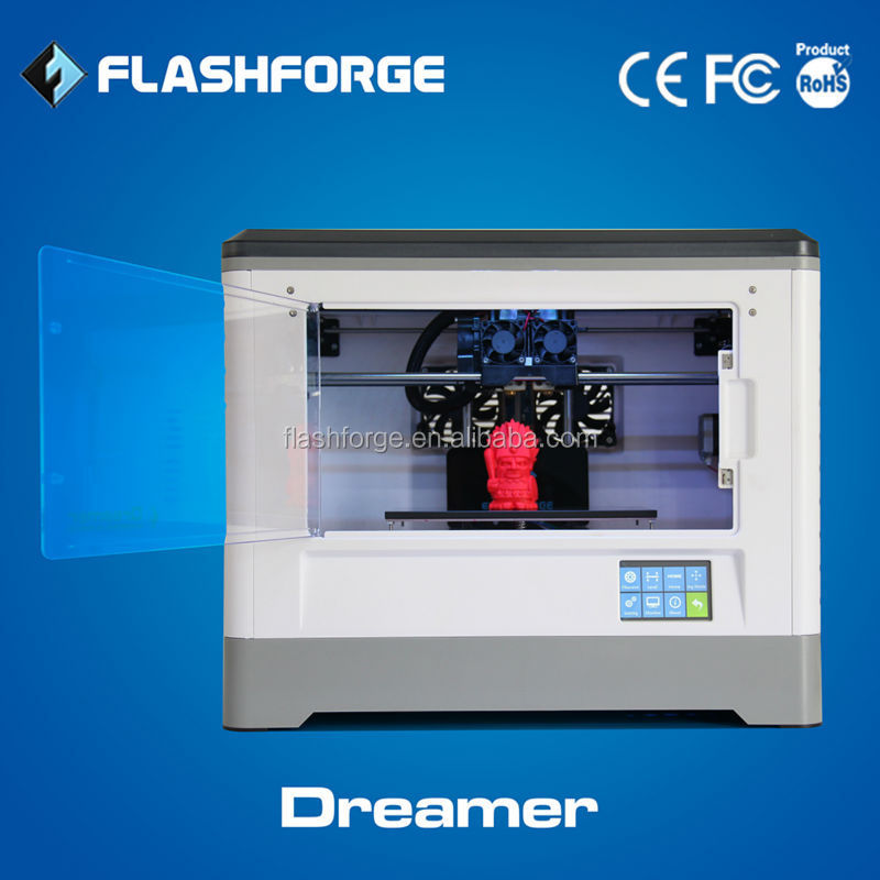 Flashforge Dreamer touch screen 3d house printer wifi connection 3d printer manufacture