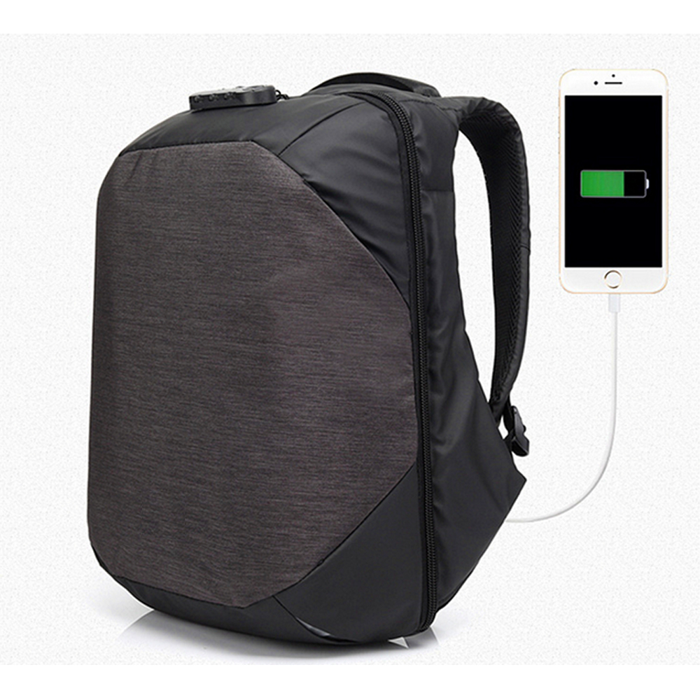 2017 New design Usb Fashion anti theft <strong>backpack</strong> with many pockets