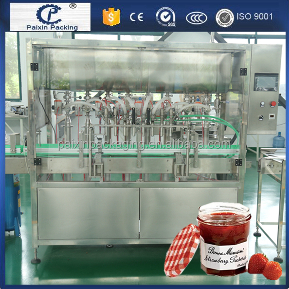 servo motor best selling liquid/oil/paste jam filling machine