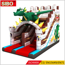 Factory price inflatable water slide/ inflatable jumping castle/inflatable bounce castle slide for market