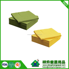 Solid Colour Napkin/colorful paper napkins/yellow paper napkins