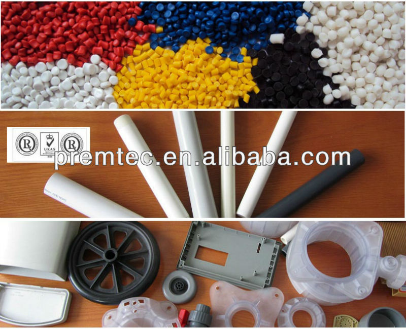 ISO Factory supply injection pvc compound