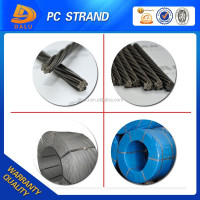 12 7mm 1 7 Wire Prestressed