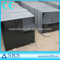 Polished tile shanxi black granite