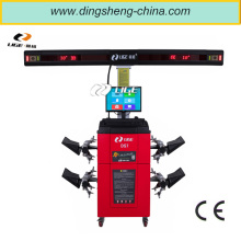 manufacturer double computer remote controlled lifting column wheel alignment