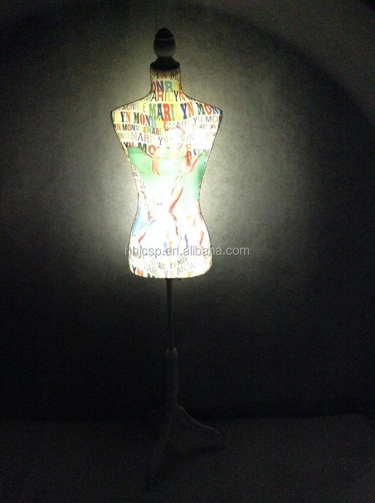 Patent right LED lighting movable tailoring mannequin
