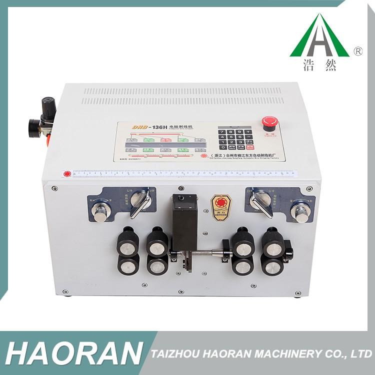 Customizable features house wiring electrical cable stripping machine,telephone wire stripping machine