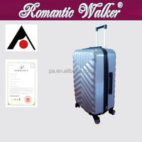 fashionable abs luggage with wheeled cabin luggage